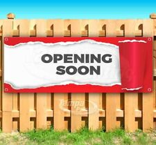 Opening Soon Ripping Advertising Vinyl Banner Flag Sign Many Sizes Usa