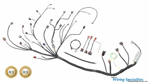 wiring specialties pro series engine tranny harness s14 sr20 sr20det rh ebay com Ford Wiring Harness Kits e30 sr20 wiring harness