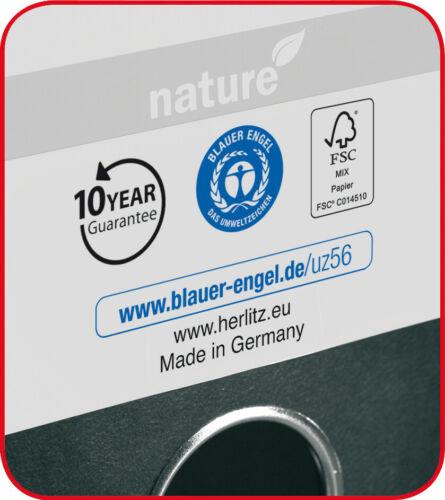 Menge wählbar Ordner maX.file nature 8,0 cm Wolkenmarmor Kantenschutz!