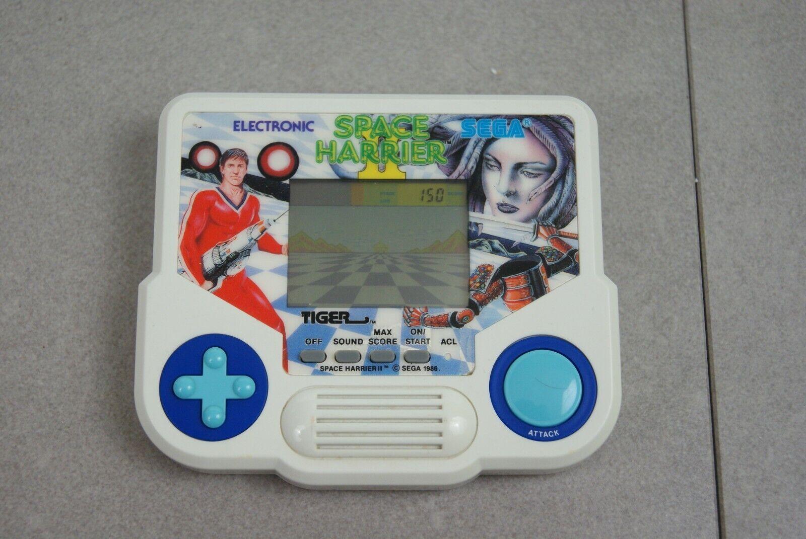 Tiger LCD de mano   1990 Tiger Electronics espacio aguilucho 2  - muy rara