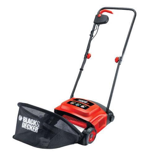 Arieggiatore elettrico 600w nero&Decker lama 30 cm per pulizia giardino GD 300