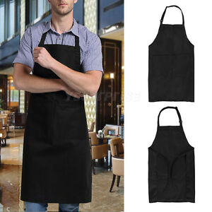 Professional Adjustable Strap Apron Kitchen Restaurant Chef Cooking ...