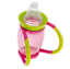 2X Brother Max 4-in-1 4 Stage Bottle to Trainer Cup Silicone Teat Pink//Green 4M+