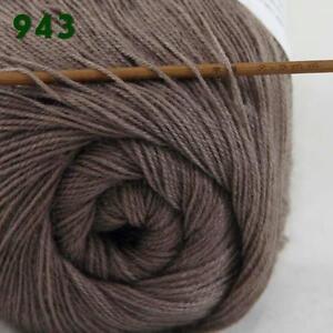 Sale-New-1ballx50g-LACE-Soft-Crochet-Acrylic-Wool-Cashmere-hand-knitting-Yarn-43