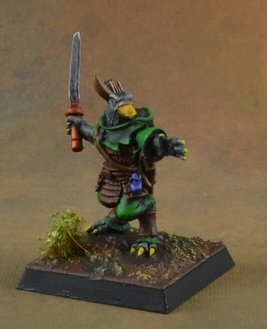 Pintado Reaper Miniature Tengu, Ranger, carácter D&D