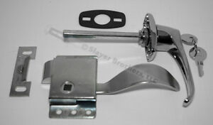 Cab-Door-Repair-Kit-Handle-LH-Latch-Gasket-amp-Striker-Plate-FREE-US-SHIPPING