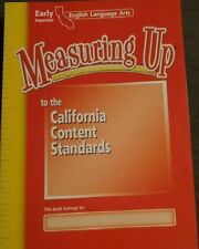 Measuring Up Early Prep English Language ARTS READING WRITING SKILLS 9th Grade 9