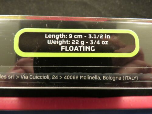 """Molix Sneaky Frog Topwater Fishing Lure #59 WCC Red Craw SNFR90-59 3//4oz 3-1//2/"""""""