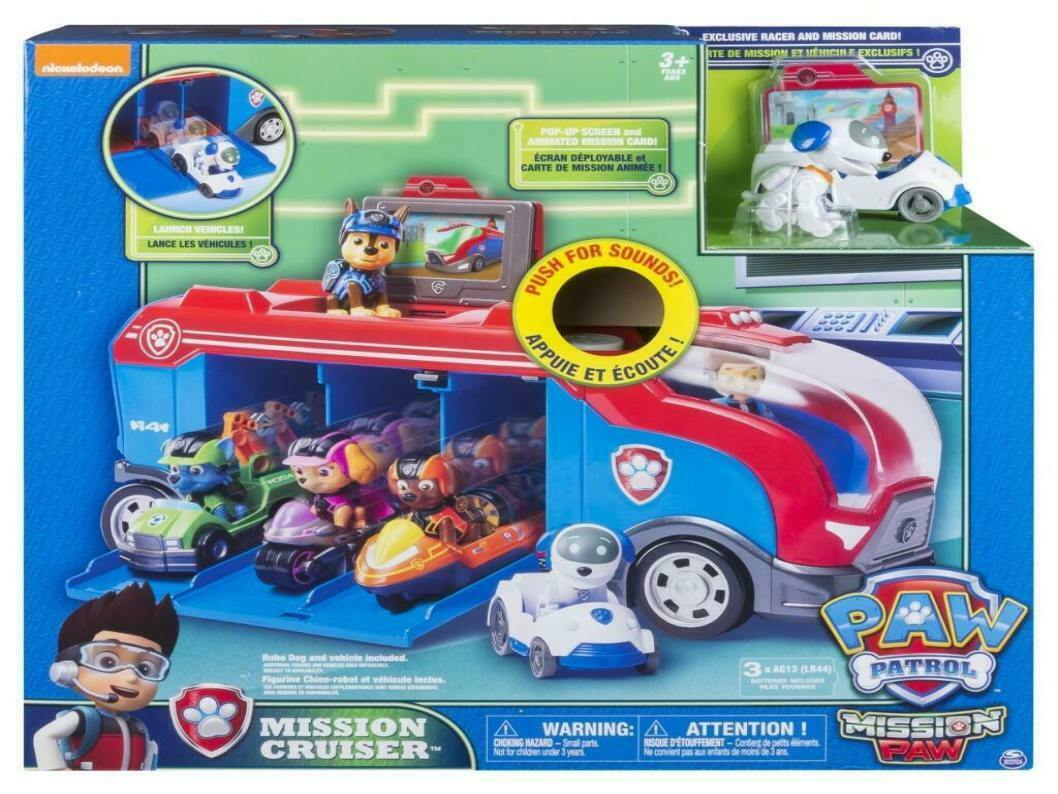 Spin Master - Paw Patrouille Mission Cruiser, Neuf  Embal. Origine