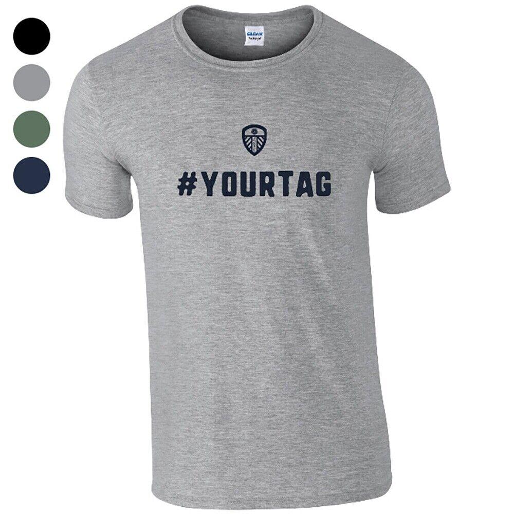 Leeds United F.C - Personalised Mens T-Shirt (CREST #)