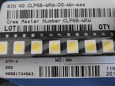 100pcs Cool White 3528 LED SMD 6000-6800K