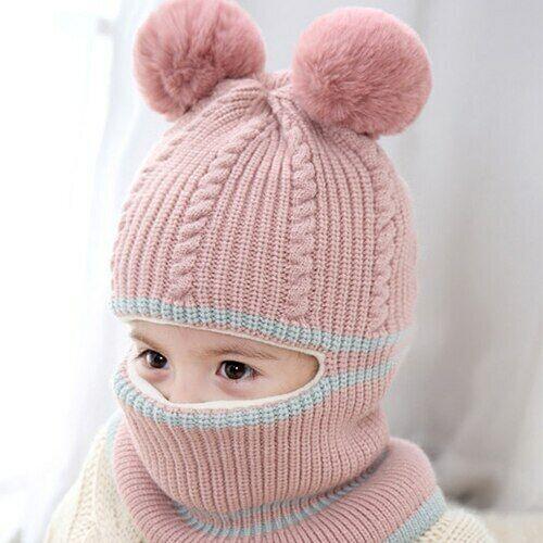 gorros de invierno para bebes niñas niños gorras de lana para el frio sombreros