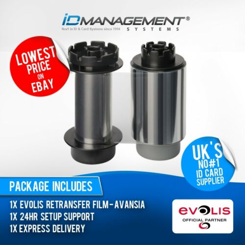 Evolis RTCL009NAA Clear Film for Avansia • Free UK Delivery
