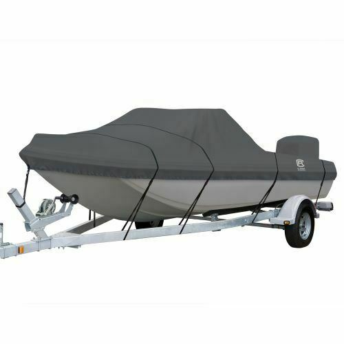 StormPro Tri-Hull Boat Cover,  Fits Boats 13'6  - 14'6  L x 73  W  just for you