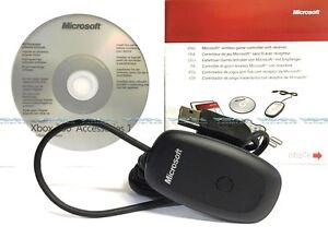 Original-Microsoft-Xbox-360-Receiver-Adapter-verbindet-Funk-Controller-mit-PC