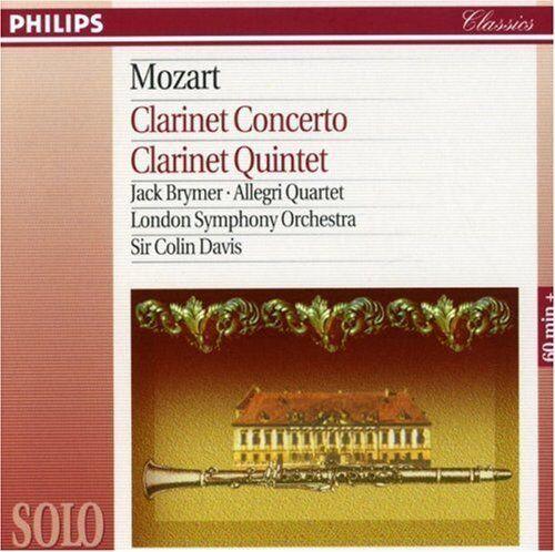 1 of 1 - Wolfgang Amadeus Mozart - Mozart: Clarinet Concerto; Clarinet Quintet (1994)