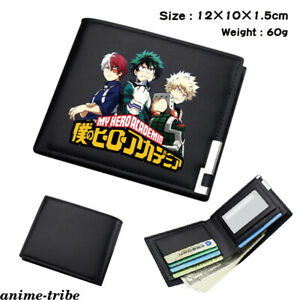 Tokyo Ghoul Leather PU Wallet Holder Layers Bifold Card Coin Short Purse