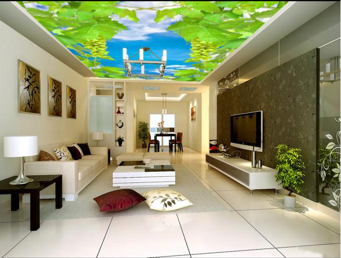 3D Grün Grape Vine 8 Wallpaper Mural Wall Print Wall Wallpaper Murals US Summer