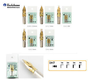 Image Is Loading Tachikawa Calligraphy Dip Pen Nibs 1 Pack Of
