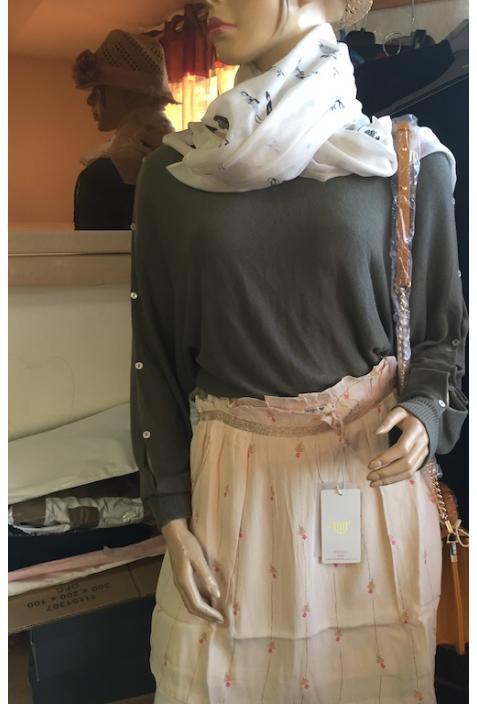 ORFEO ETE 2018   jupe modèle JOZU S pink poudre