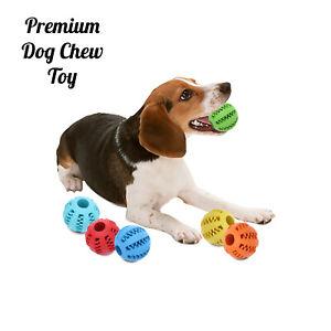 Dog-Chew-Ball-Toy-Rubber-Feeder-Treat-Gum-Teeth-Bite-Puppy