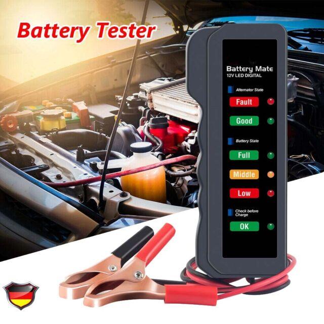 BM310 12V Auto Batterietester Digital PKW OBD KFZ Diagnosegerät Akku Testgerät