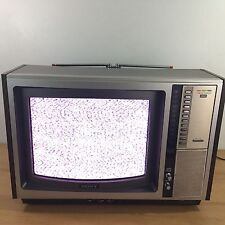 "Vintage 1978  SONY TRINITRON KV-1513 15"" COLOR TV"