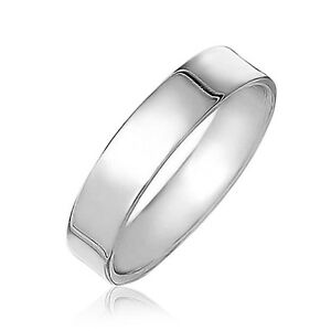 Handmade-SOLID-925-Sterling-Silver-Flat-Wedding-Band-Thumb-Midi-Ring-4mm-G-Z-3