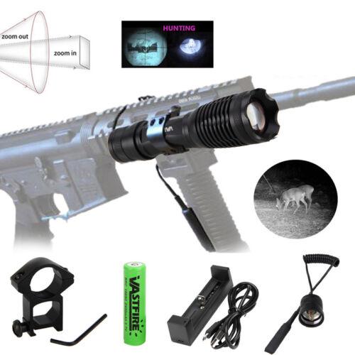Infrarot 940NM IR LED Zoom Focsu Nachtsicht Licht Taschenlampe Jagdlampe AKKU