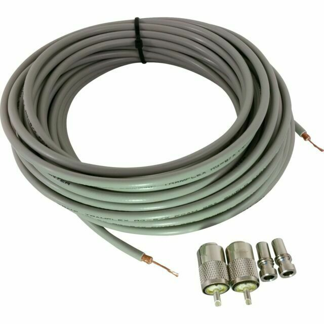 TRAM BROWNING TRAMFLEX RG8X 95/% SHEILDED 50FT COAX CABLE CB,HAM,SCANNER