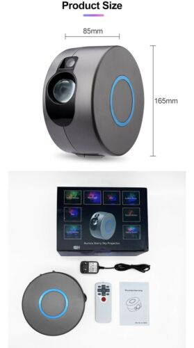 Details about  /Laser Galaxy Starry Sky Projector Rotating Water Waving Night Light Led Colorful