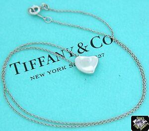 35e2d8957 Tiffany & Co. Sterling Silver Elsa Peretti FULL HEART Necklace | eBay