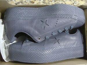 9abf5fa88806 Women s Converse One Star Platform Premium Leather 559901C Size 5.5 ...