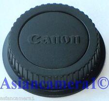 Rear Lens Cap For Canon EOS EF EF-S Series Lens Digital Film
