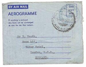 U262 1958 New Zealand Air Telegraph Deprmnt Director Generals Office Unusual PTS