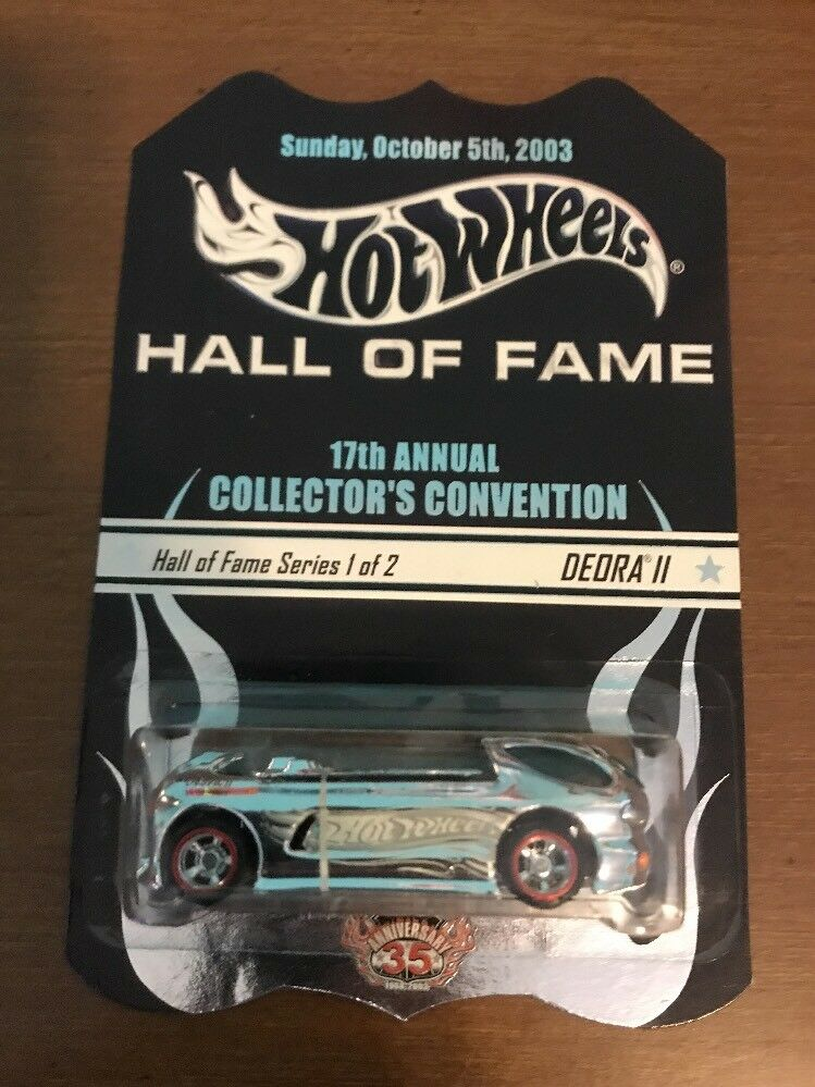 Hot Wheels - 17th Annual collectionneurs Convention Hall of Fame série DEORA II-édition limitée