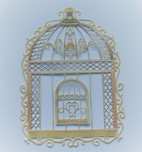 Tattered Lace intemporelle dentelle Die Cuts cage à oiseaux-Canari-Timeless Rose-Ivy