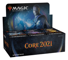 Magic Core Set 2021 Booster Box Factory Sealed M21 Core Set 2021 Draft Boosters