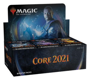 Magic-Core-Set-2021-Booster-Box-Factory-Sealed-M21-Core-Set-2021-Draft-Boosters