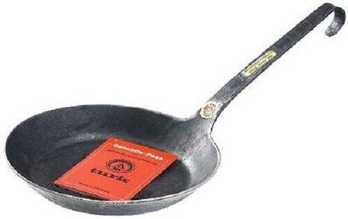 TURK Bratpfanne 30 cm Eisenpfanne Freiform geschmiedet 65530