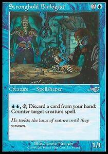 MTG-Magic-U-Nemesis-Stronghold-Biologist-SP
