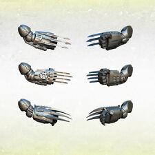 Legion Legionary Vibro Talons - Right Arms (3) Bitz Kromlech Resin KRCB147