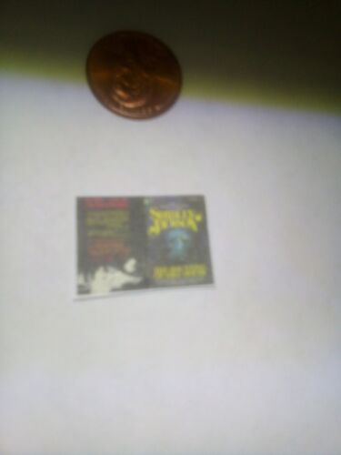 Shirley Jackson The Haunting of Hill House Dollhouse miniature book