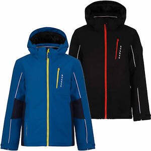 71d4799659 Dare2b Dedicate Boys Ski Jacket Kids Insulated Waterproof ARED ...