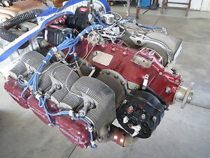 Details about Continental IO-550-B S/N 675060 Aircraft Engine Needs Rebuild  Complete w/Logs