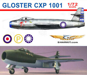 Gloster-CXP-1001-1-72-scale-resin-kit
