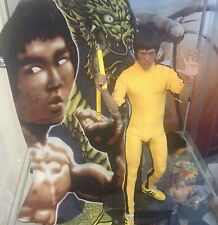 Hot toys detolf Bruce lee graffiti portrait background display print