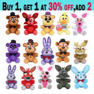 NEW Five Nights at Freddy's FNAF Horror Game Plush Doll Kids Plushie Toy Gift DE