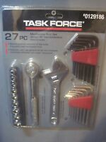 Task Force 27 Pc Very Basic Mechanics Tool Set