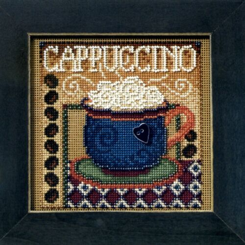 Cappuccino Bead Cross Stitch Kit Mill Hill 2008 Buttons /& Beads Autumn